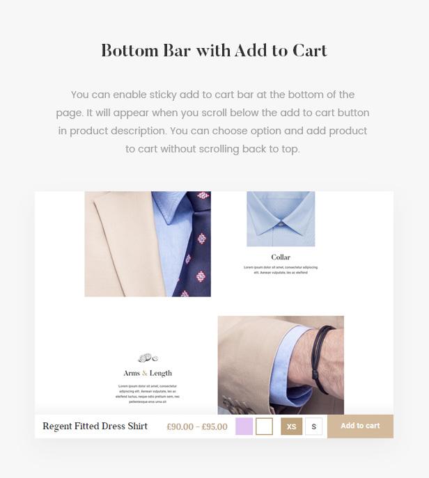 5th Avenue - WooCommerce WordPress Theme - 10