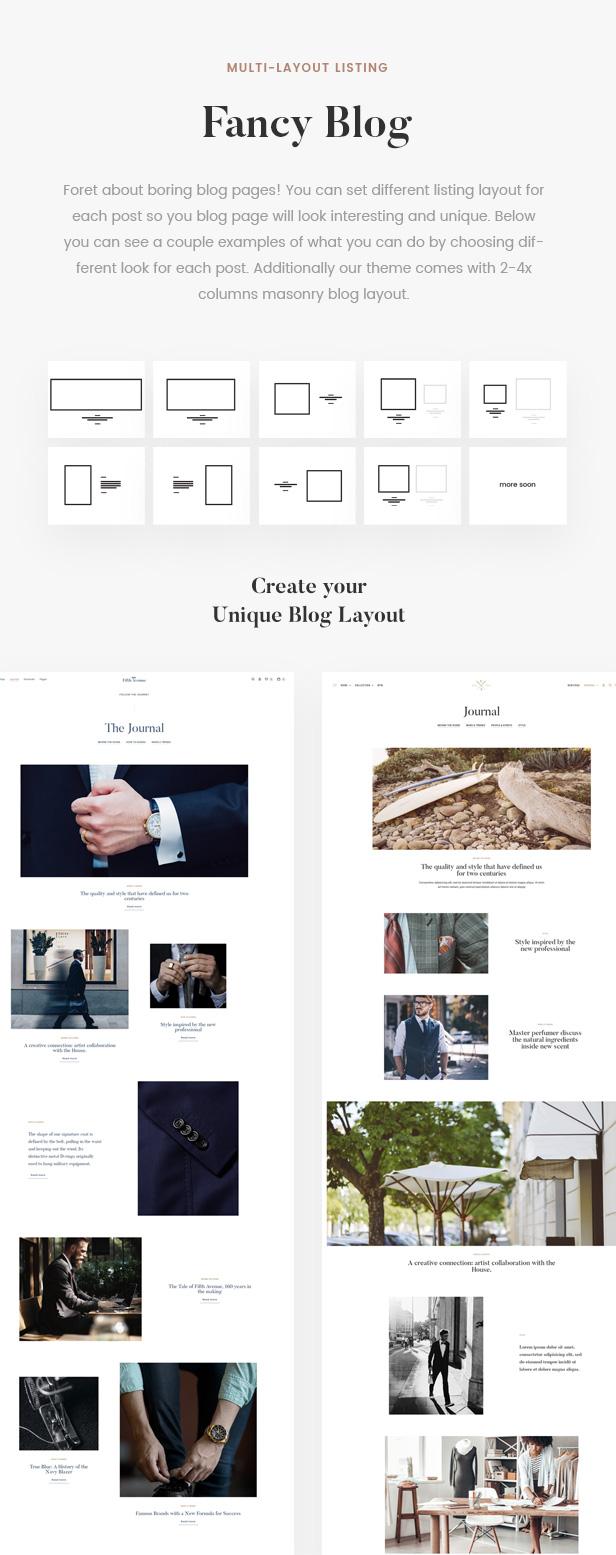 5th Avenue - WooCommerce WordPress Theme - 14