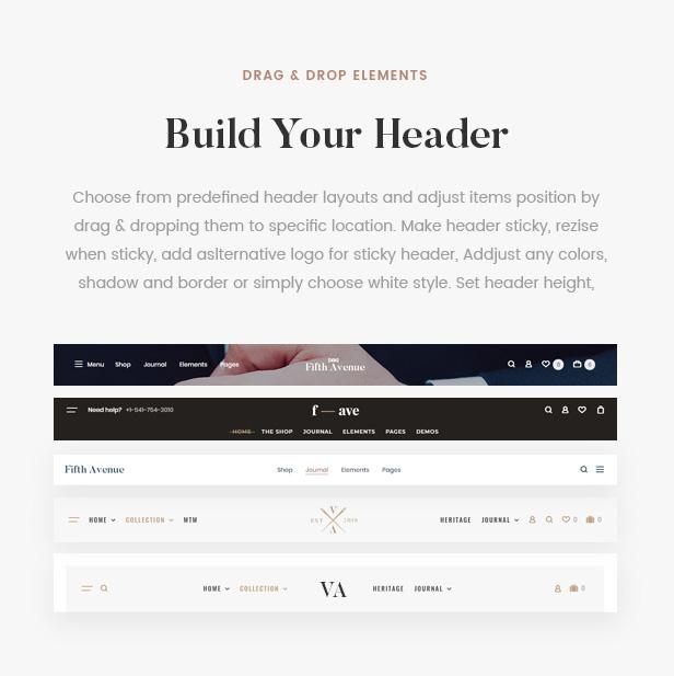5th Avenue - WooCommerce WordPress Theme - 15